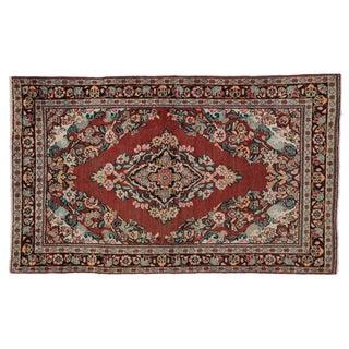 Persian Mahal Rug - 4' x 6'6
