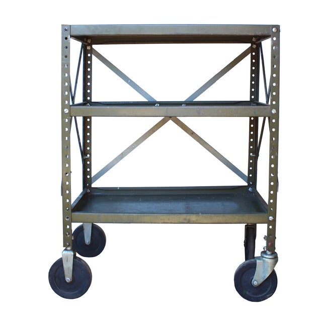Industrial Rolling Cart - Image 1 of 2