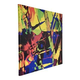 Abstract Multicolor Digital Art