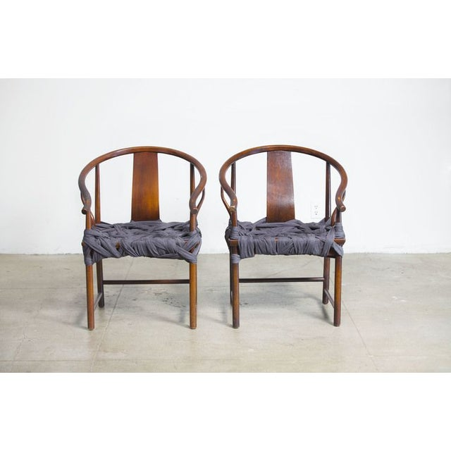 Image of Hand-Tied Fabric Chair