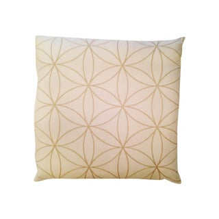 Ivory Modern Graphic Pillow