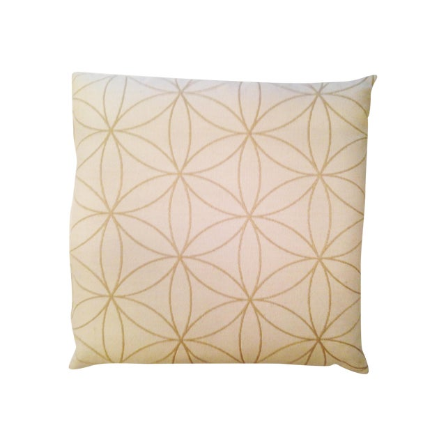 Modern Graphic Pillow : Ivory Modern Graphic Pillow Chairish