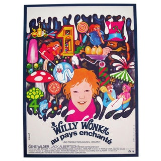 Willy Wonka & The Chocolate Factory Film Poster