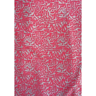 Contemporary Abstract Embroidery Fabric - 5 Yards