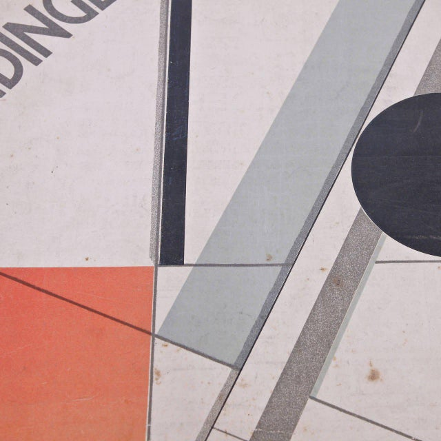 Wendingen, Issue 11, Cover by El Lissitzky, 1921 - Image 7 of 10