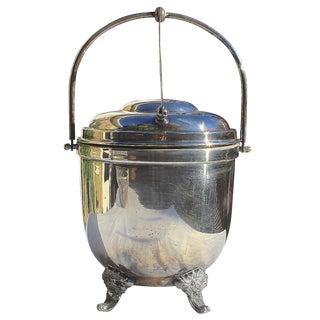 Silverplate Vintage Ice Bucket
