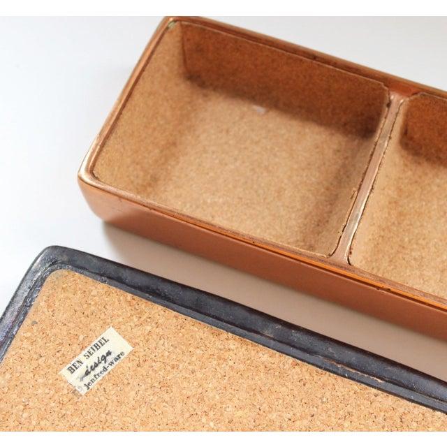 Vintage Ben Seibel for Jenfred-Ware Copper Table Box - Image 4 of 6