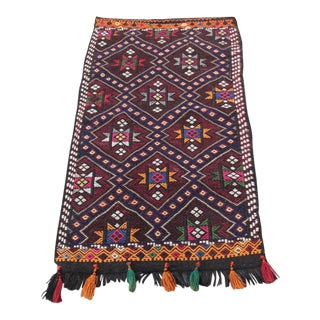 Vintage Anatolian Kilim - 2' x 3'7''