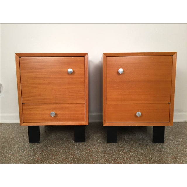 Image of George Nelson Herman Miller Side Tables - Pair