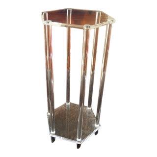 Hexagonal Acrylic Pedestal