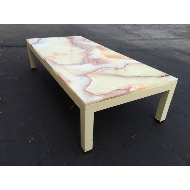 Image of Onyx Parsons Coffee Table