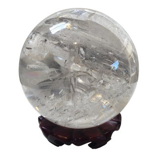 Extra Large Quartz Crystal Ball