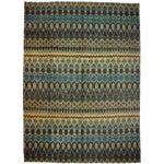 Image of New Ikat Hand Knotted Area Rug - 10' x 13'8""