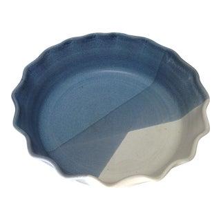 Handmade Artisan Pottery Pie Plate