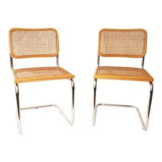 Italian Chrome Chairs - A Pair