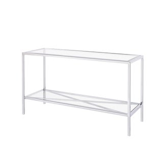Blink Home Silver Console Table