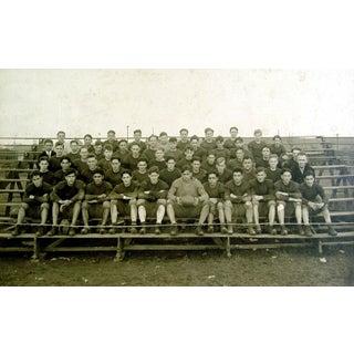 Antique 1915 Pennsylvania Football Team Photograph