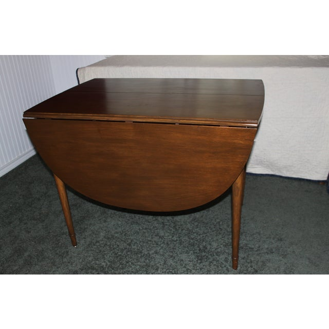 Image of Mid-Century Drop Leaf Dining Set
