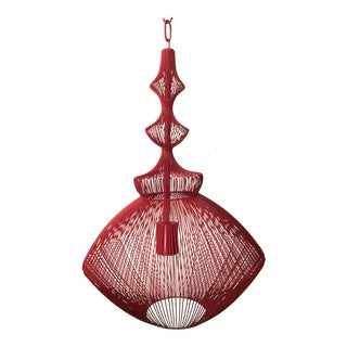 Currey & Company Parker Red Pendant Light