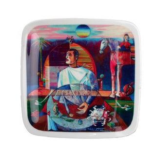 "L. Rincicotti Zodiac Art Plate ""Cancer"""