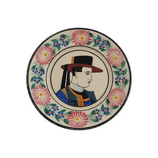 Quimper Faience Plate