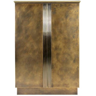 Belgochrom Acid Etched Brass Cabinet