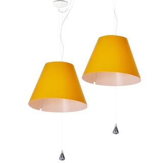 "Paolo Rizzatto for Luceplan Italia ""Costanza"" Pendants 1986 - a Pair"