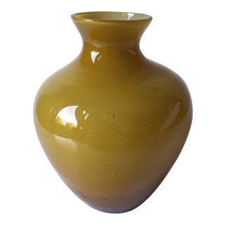 Carlo Moretti Cased Glass Vase