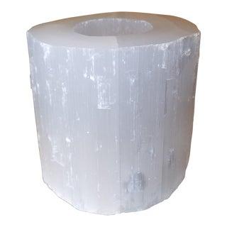 Selenite Crystal Tea Candle Holder