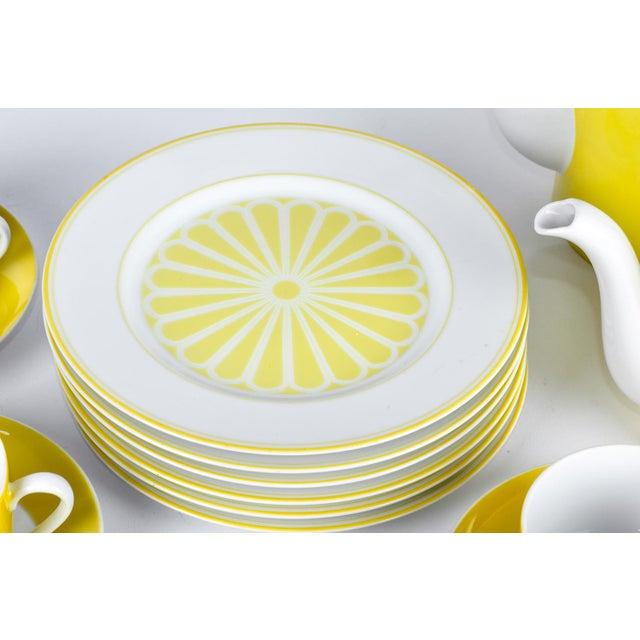 Vintage Lemon Porcelain Luncheon Service - Image 7 of 11