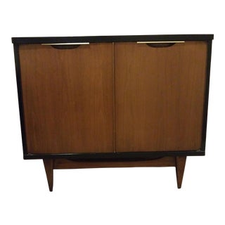 Kent Coffey, the Tableau Collection Walnut Nightstand or Media Cabinet