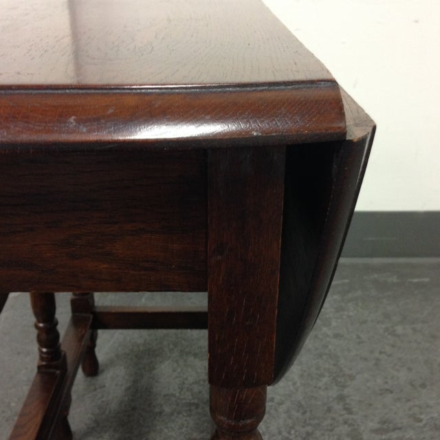 Vintage Convertible Occasional Table - Image 8 of 10