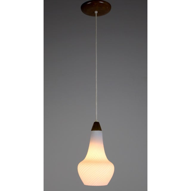 A Pair of Mid Century Pendant Lights - Image 4 of 8