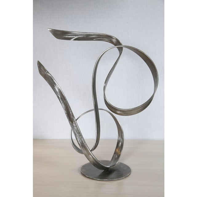 """Electric Wind"" Steel Sculpture by Joe Sorge - Image 3 of 10"