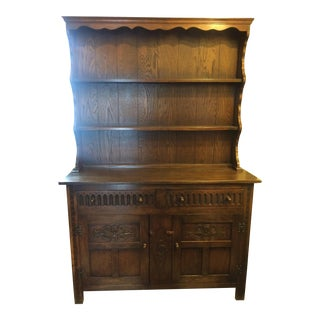 1920s English Welch Cabinet