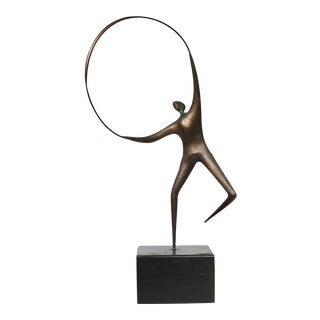 Signed Curtis Jere Bronze Sculpture, Circa 1960s