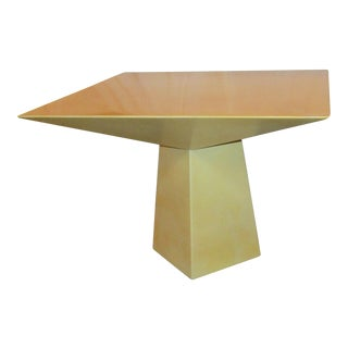Modern Springer Lacquered Goatskin Table