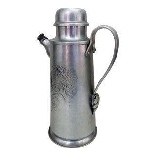 Vintage Aluminum Cocktail Shaker