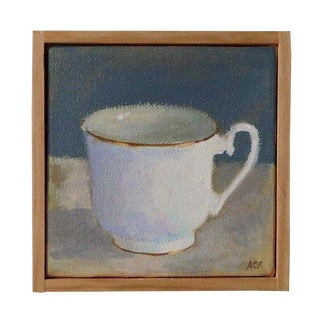 White Tea Cup by Anne Carrozza Remick