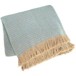 """Textillery """"Pool/Bermuda"""" Indoor/Outdoor Throw"""