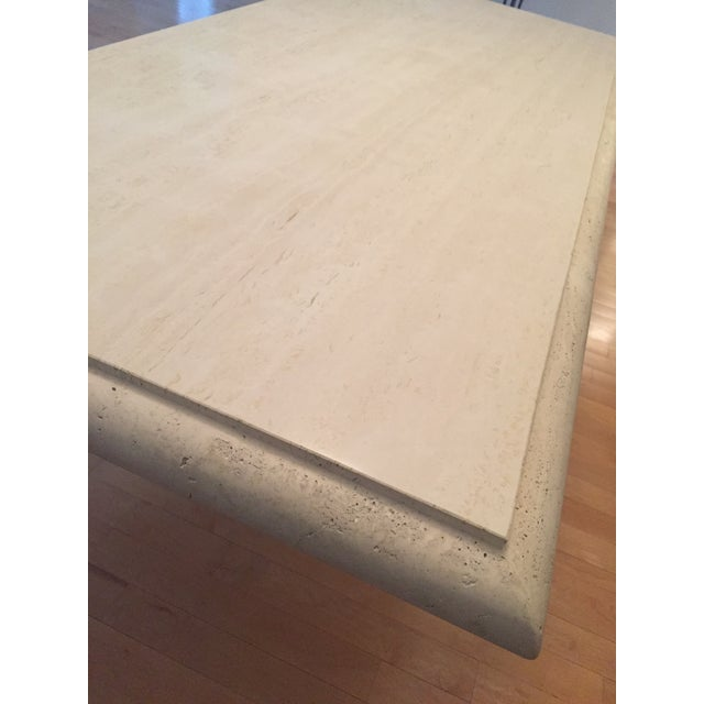 Kreiss Travertine Dining Table - Image 10 of 11