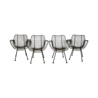 Russell Woodard Sculptura Wire Chair - Set of 4