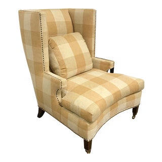 RJones Wingback Waternish Chair