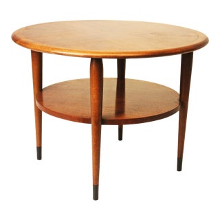Mid Century Modern Lane Acclaim Round Accent Table