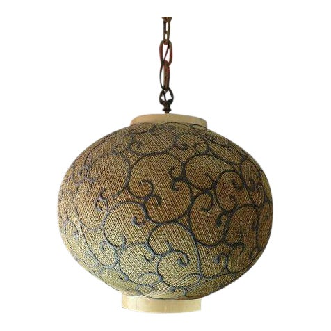 Vintage Victorian Scrolled Swagain Light - Image 1 of 5
