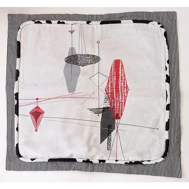 Midcentury Decorative Pillow Sham - Image 3 of 4
