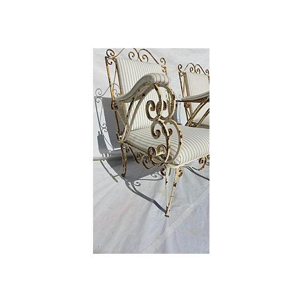 French Style Veranda Chairs - Pair - Image 4 of 7