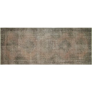 "Vintage Turkish Overdyed Runner - 4'8"" x 12'9"""