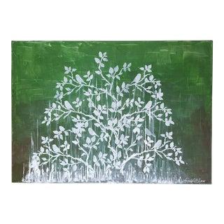 "LeBlanc's ""Birds Hiding From Rain"" Painting"