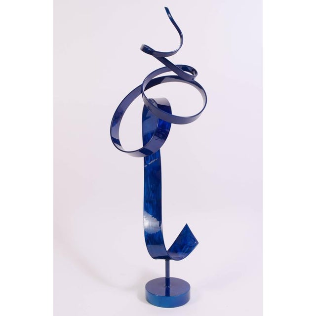 Charybdis by Joe Sorge, Powder Coated Steel Sculpture - Image 4 of 10